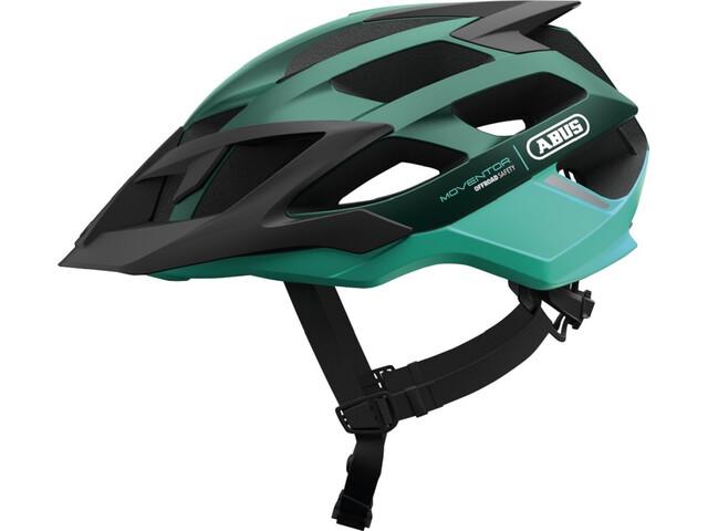 ABUS Moventor MTB-Helmet smaragd green